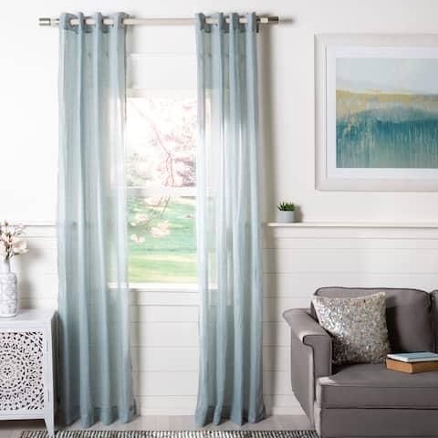 Safavieh Moony Sheer Window Curtain Panel