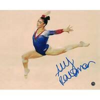 Aly Raisman Autographed USA Gymnastics Olympics 8x10 Photo Steiner PSM