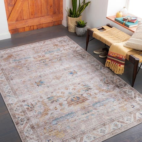 Xavi Classic Floral Printed Area rug