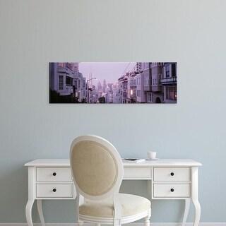 Easy Art Prints Panoramic Images's 'USA, California, San Francisco, Apartment in San Francisco' Premium Canvas Art
