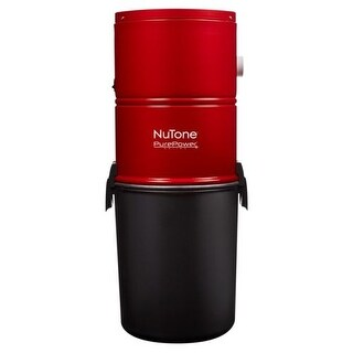 NuTone PP500 PurePower Series 500 Air Watt Bagged Central Vacuum Power Unit with ULTRA Silent? Technology