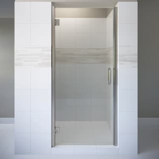 "Basco COPA00A3276CL  Coppia 76"" High x 32-9/16"" Wide Hinged Frameless Shower Door with Clear Glass"