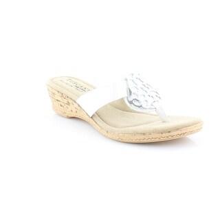Easy Spirit Rossano Women's Sandals & Flip Flops White