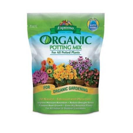 Espoma AP8 Organic Potting Mix, 8 Quart