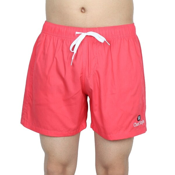 63b78c4c0c Chetstyle Authorized Men Beach Running Surfing Shorts Swim Trunks Red W 26