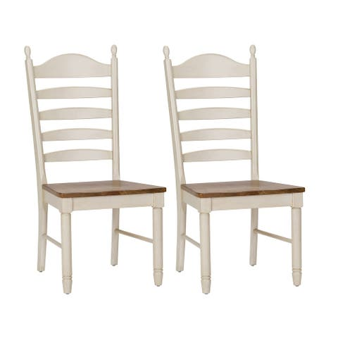 The Gray Barn Careyes Ladderback Dining Chair (Set of 2)