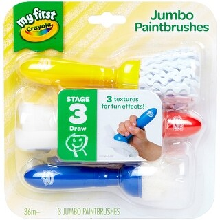 Crayola My First Jumbo Paintbrushes-