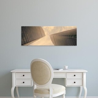 Easy Art Prints Panoramic Image 'Office buildings, World Trade Center, Manhattan, New York City, New York' Canvas Art