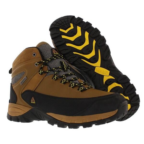 OTAH Forestier Men's Waterproof Hiking Mid Cut CamelBlack Boots