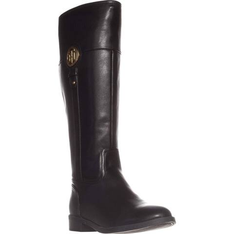 16bc25187 Tommy Hilfiger Womens ilia-2 Almond Toe Knee High Fashion Boots