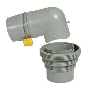 Camco 39144 4 IN 1 Sewer Adapter With Elbow