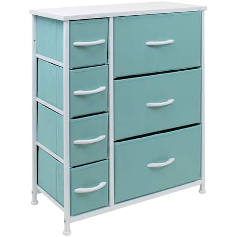 Dresser w/ 7 Drawers, Furniture Storage & Chest Tower for Bedroom