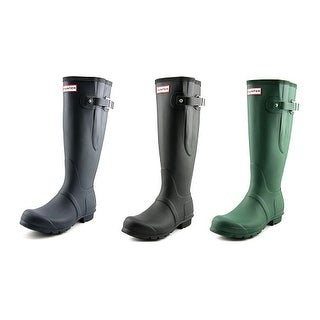 Hunter Original Adjustable Round Toe Synthetic Rain Boot