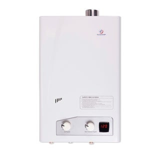 Eccotemp FVI-12-NG  3 GPM Natural Gas Whole House Tankless Water Heater - White