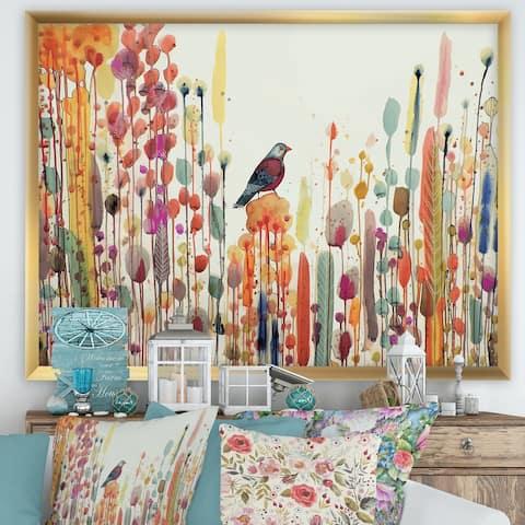 Designart 'Joie De Vivre' Cottage Premium Framed Art Print