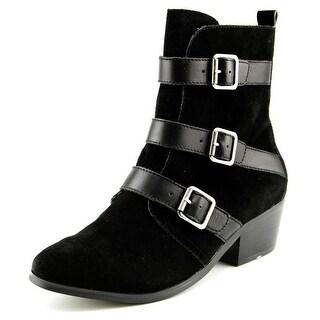 Kelsi Dagger Dana Women Round Toe Suede Ankle Boot