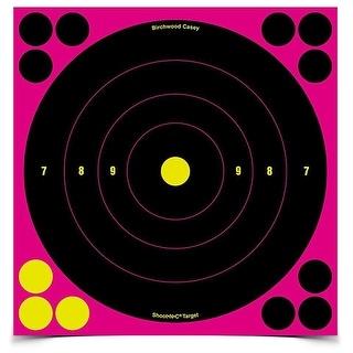 "Birchwood Casey 34808 Shoot-N-C Pink 8"" Bullseye"