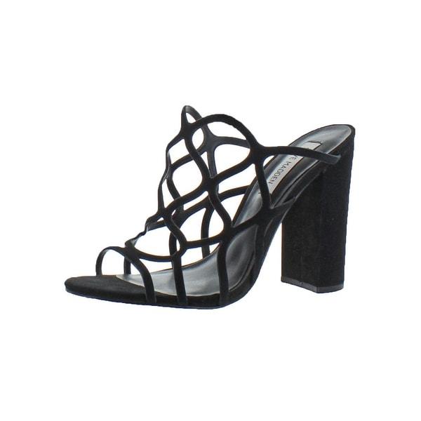 b411720c24c Shop Steve Madden Womens Carlita Dress Sandals Caged Block Heel ...