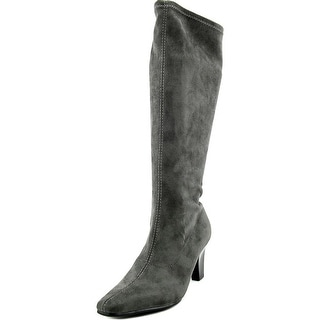 Aerosoles Risky Pizness   Pointed Toe Canvas  Knee High Boot