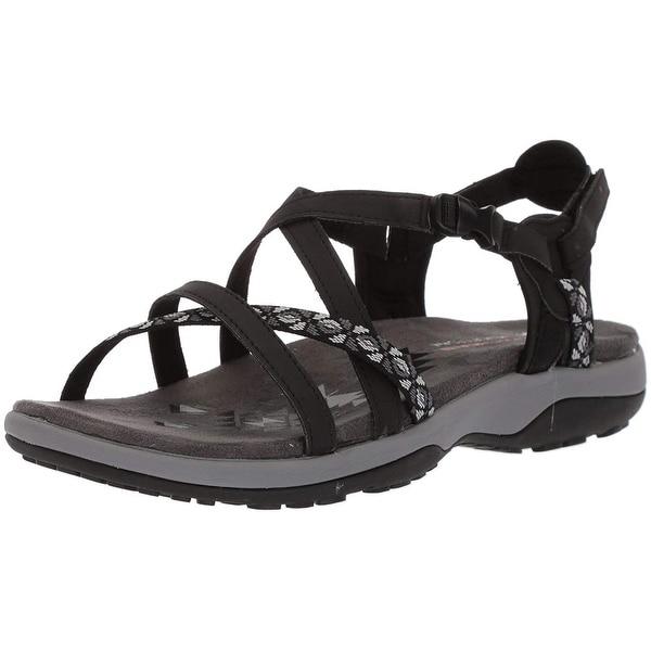 8960d7748957 Shop Skechers Womens Reggae Fabric Open Toe Casual Sport Sandals ...