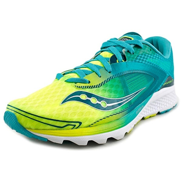 a93e9217fe5c Shop Saucony Kinvara 7 Women Round Toe Synthetic Green Running Shoe ...