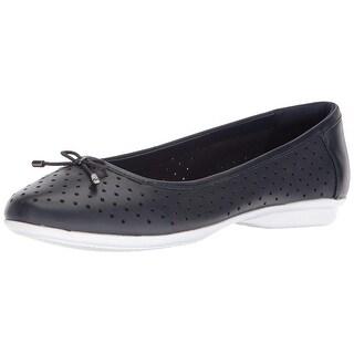 CLARKS Womens gracelin lea Closed Toe Mules