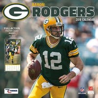 Green Bay Packers Aaron Rodgers Wall Calendar, Green Bay Packers by Turner