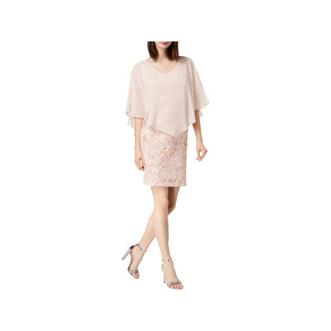 82b781be2ae Connected Apparel Womens Party Dress Soutache V-Neck