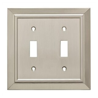 Franklin Brass W35220-C Classic Architecture Double Toggle Switch Wall Plate
