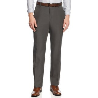 Kenneth Cole Reaction Slim Fit Nailhead Dress Pants Charcoal 33 x 32