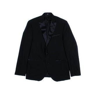 Kenneth Cole New York Mens Crepe Regular Fit Tuxedo Jacket