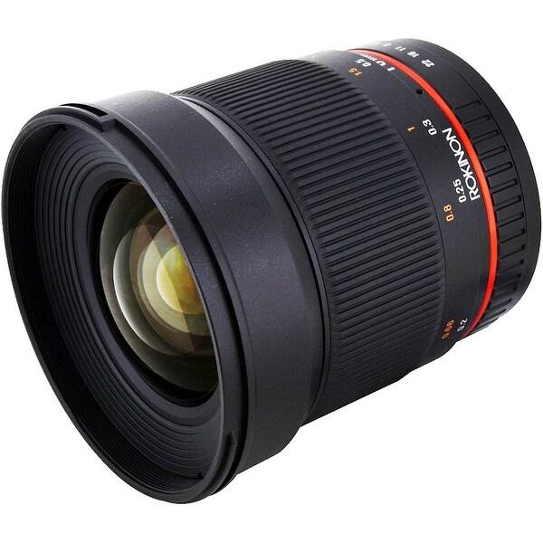 Rokinon 16mm f/2.0 ED AS UMC CS Lens for Sony E Mount - Black