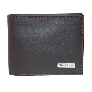 Tommy Hilfiger Men's Leather Fordham Passcase Billfold Wallet - One size