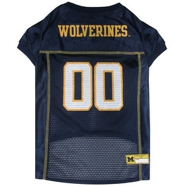 Collegiate Michigan Wolverines Pet Jersey