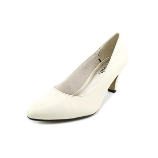 Life Stride Sable Women Round Toe Synthetic Ivory Heels
