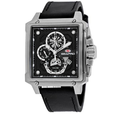 Seapro Men's Black Dial Watch - SP0111