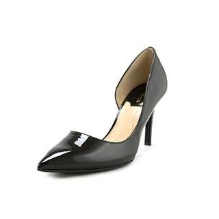 Marc Fisher Zanetti2 Women Pointed Toe Synthetic Black Heels