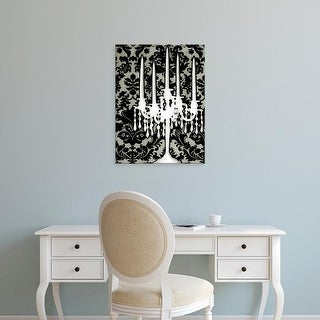 Easy Art Prints Ethan Harper's 'Small Patterned Candelabra I' Premium Canvas Art
