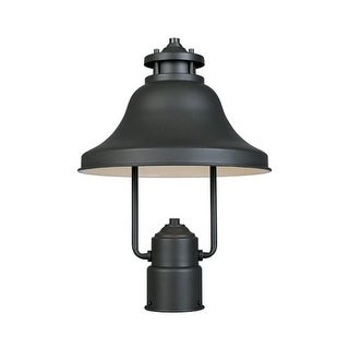 """Designers Fountain 31336-BZ 1 Light 11"""" Post Lantern from the Bayport Collection"""