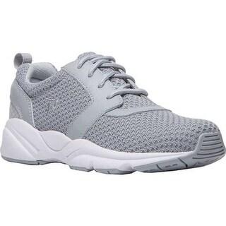 Propet Women's Stability X Walking Sneaker Light Grey Mesh