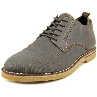 Steve Madden P-Tannd Men Round Toe Leather Brown Oxford