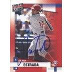 Johnny Estrada Philadelphia Phillies 2002 Donruss Fan Club Autographed Card  Rookie Card  This item