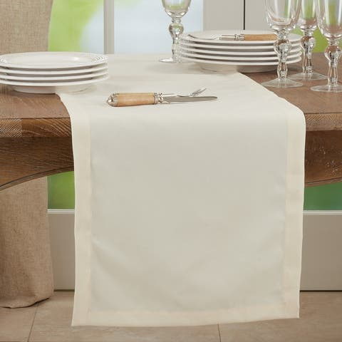 Everyday Design Solid Color Table Runner