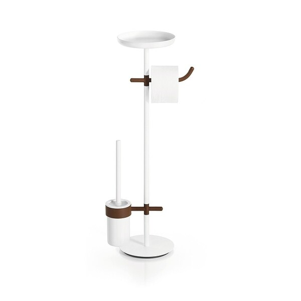 "WS Bath Collections Ranpin 5111 26-3/4"" Accessories Stand - Rust"