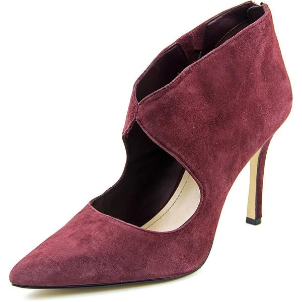 5844b7cd0d0 Shop BCBGeneration Pailie Women Pointed Toe Suede Burgundy Heels ...