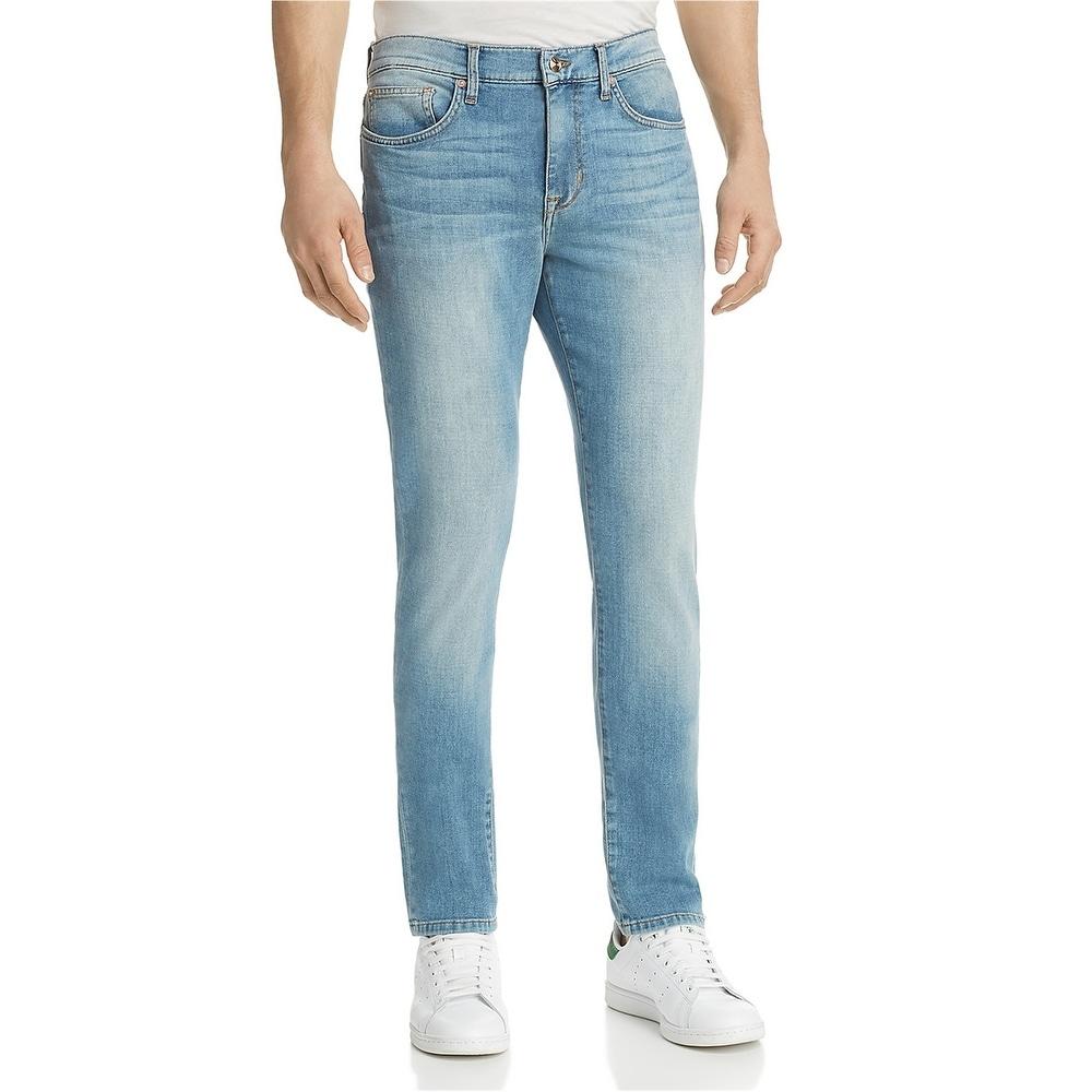 NEW Diesel Mens Size 31w 34w Long Leg 33L Slim Straight Blue Jeans