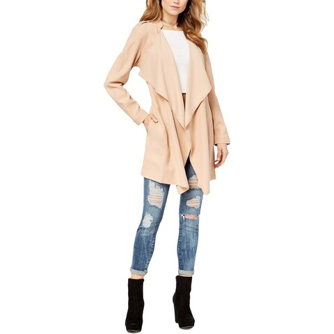 Guess Womens Cali Trench Coat Spring Lightweight