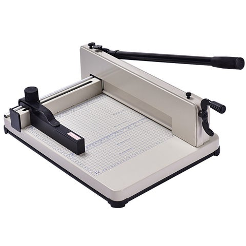 Costway 12 Inch A4 Paper Cutter Guillotine Trimmer Cutting Machine Heavy Duty 400 Sheets