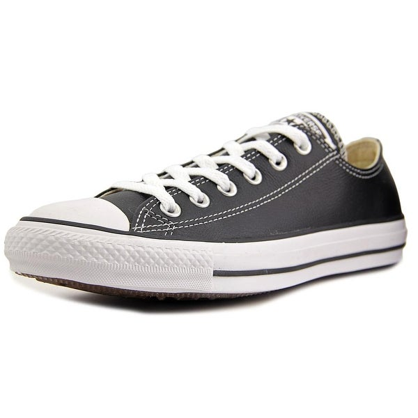 Converse Chuck Taylor Ox Women  Round Toe Canvas Black Sneakers
