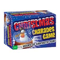 Outset Media Christmas Charades Game - Party Game and Family Fun - Ages 8 and Up - Multi-color